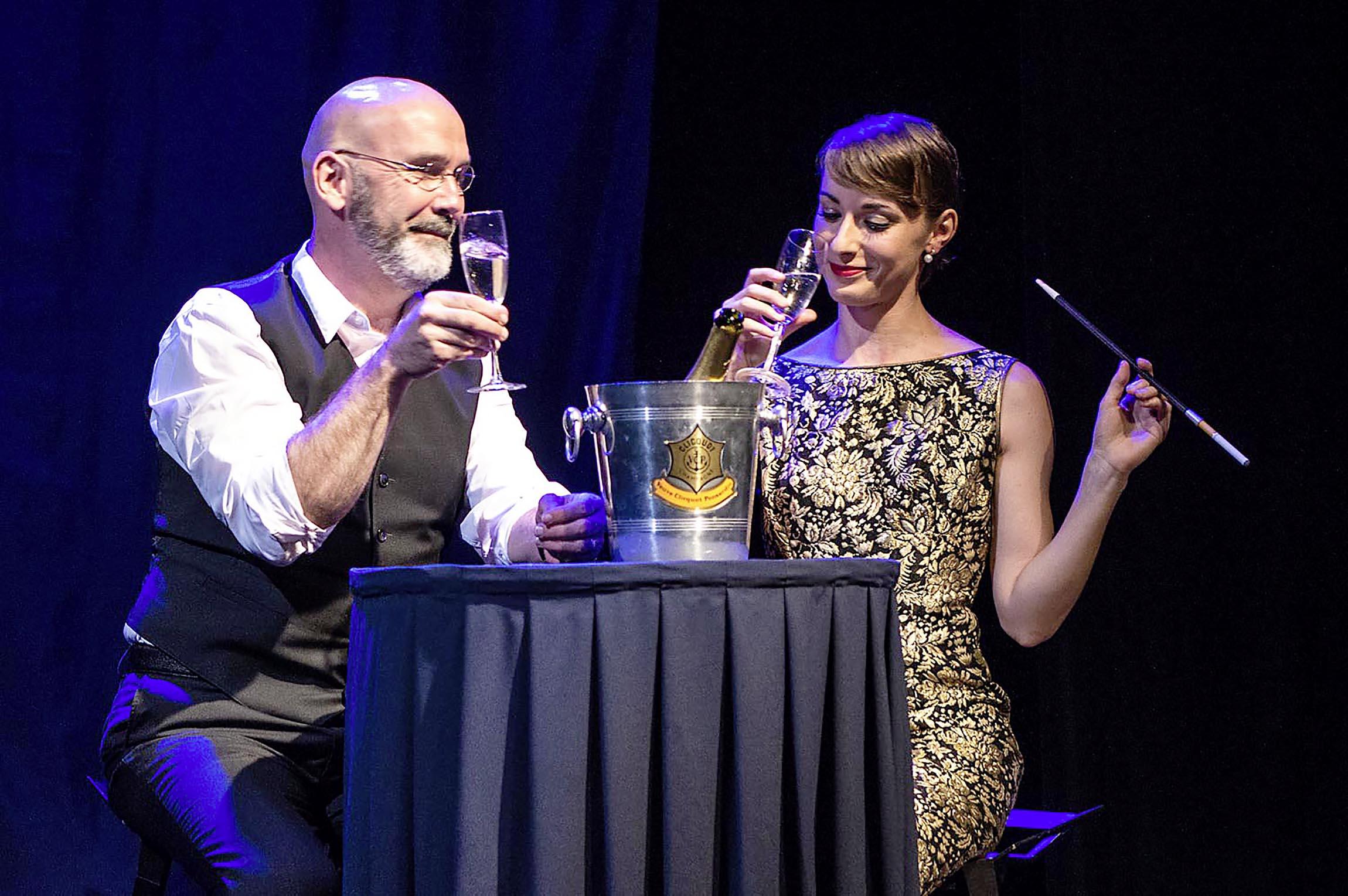 Audrey Hepburn sur scène au Casino
