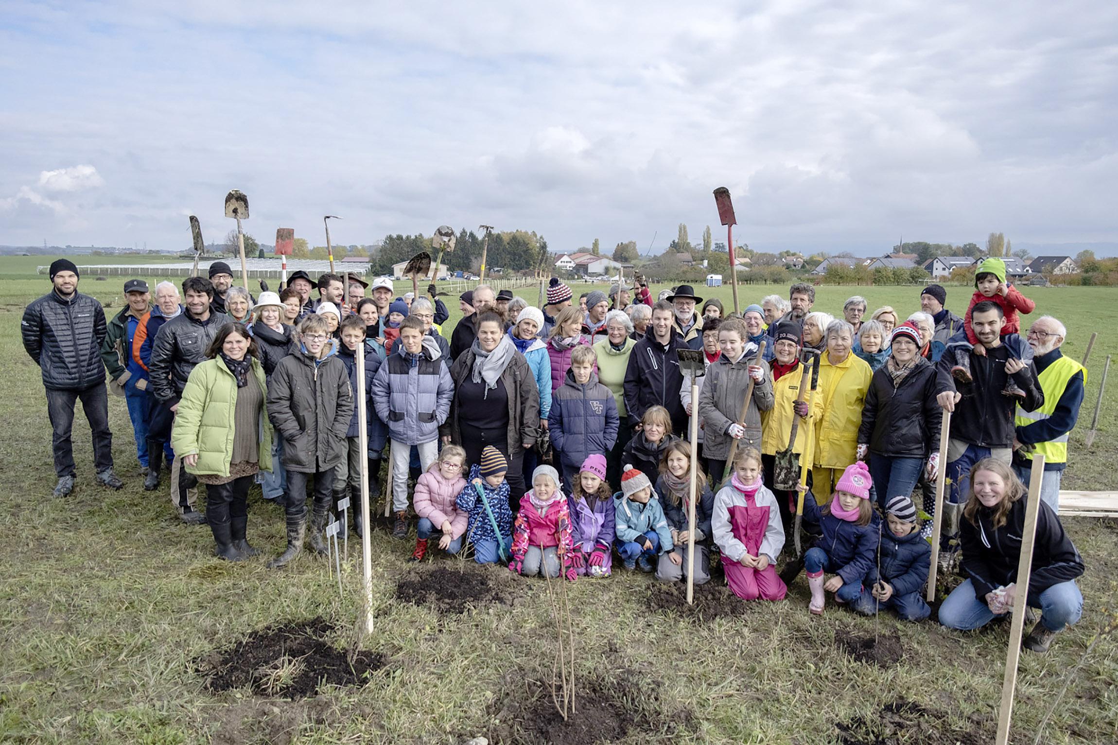 570 arbres plantés pour favoriser la biodiversité