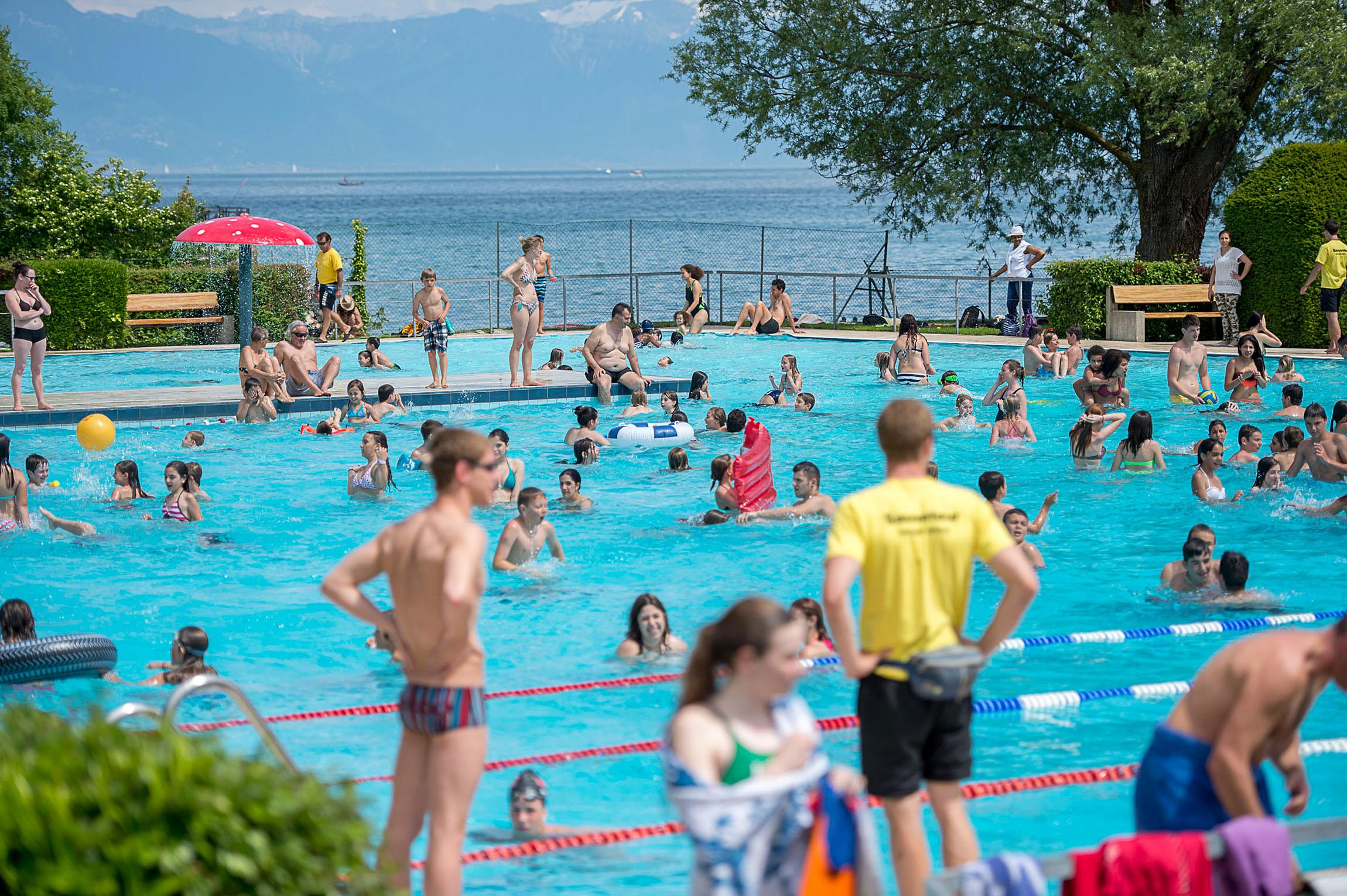 La piscine de Morges sera gratuite jusqu'à nouvel avis!