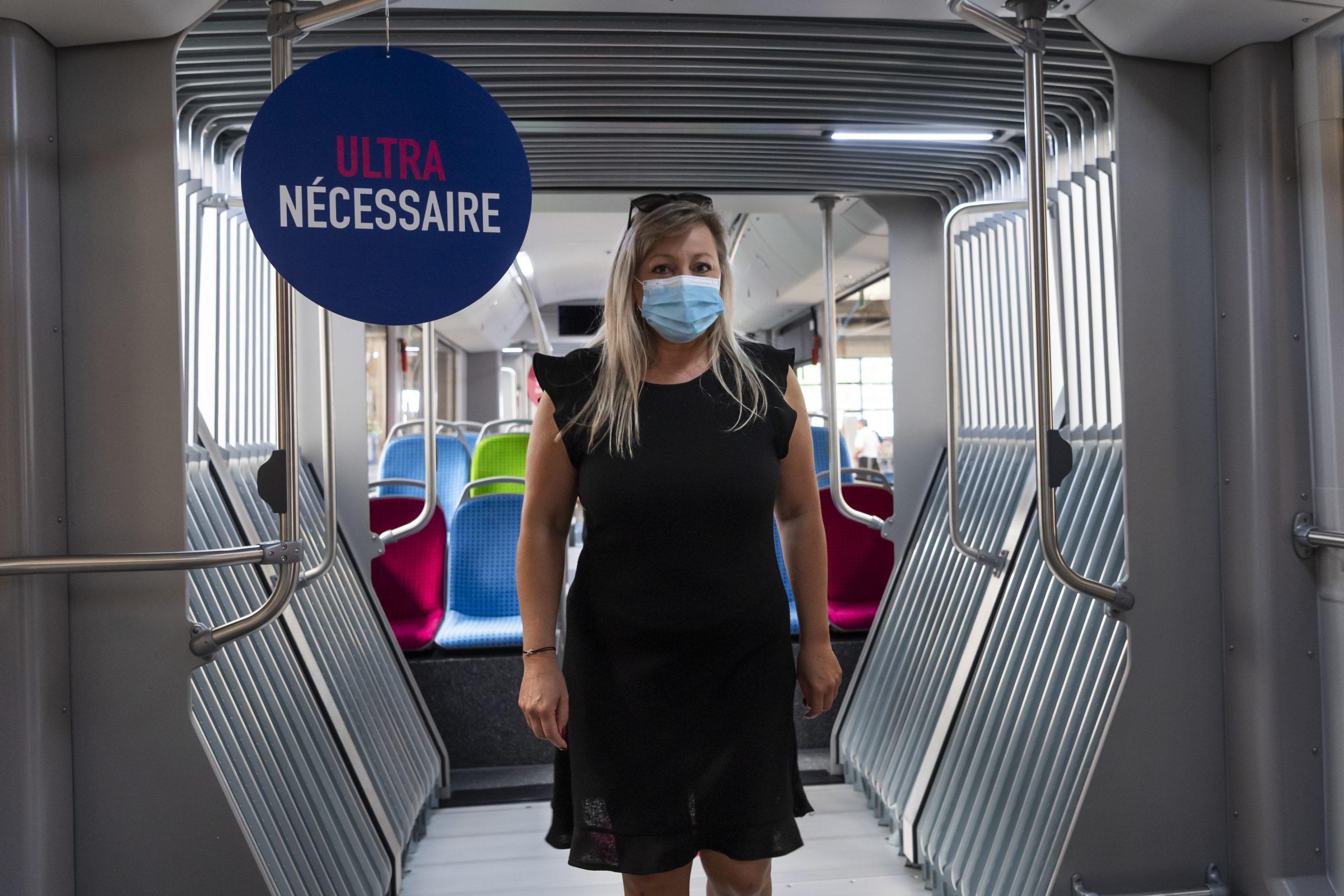 Le masque obligatoire au magasin