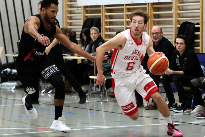Le Red Devils Basket prend la balle au bond
