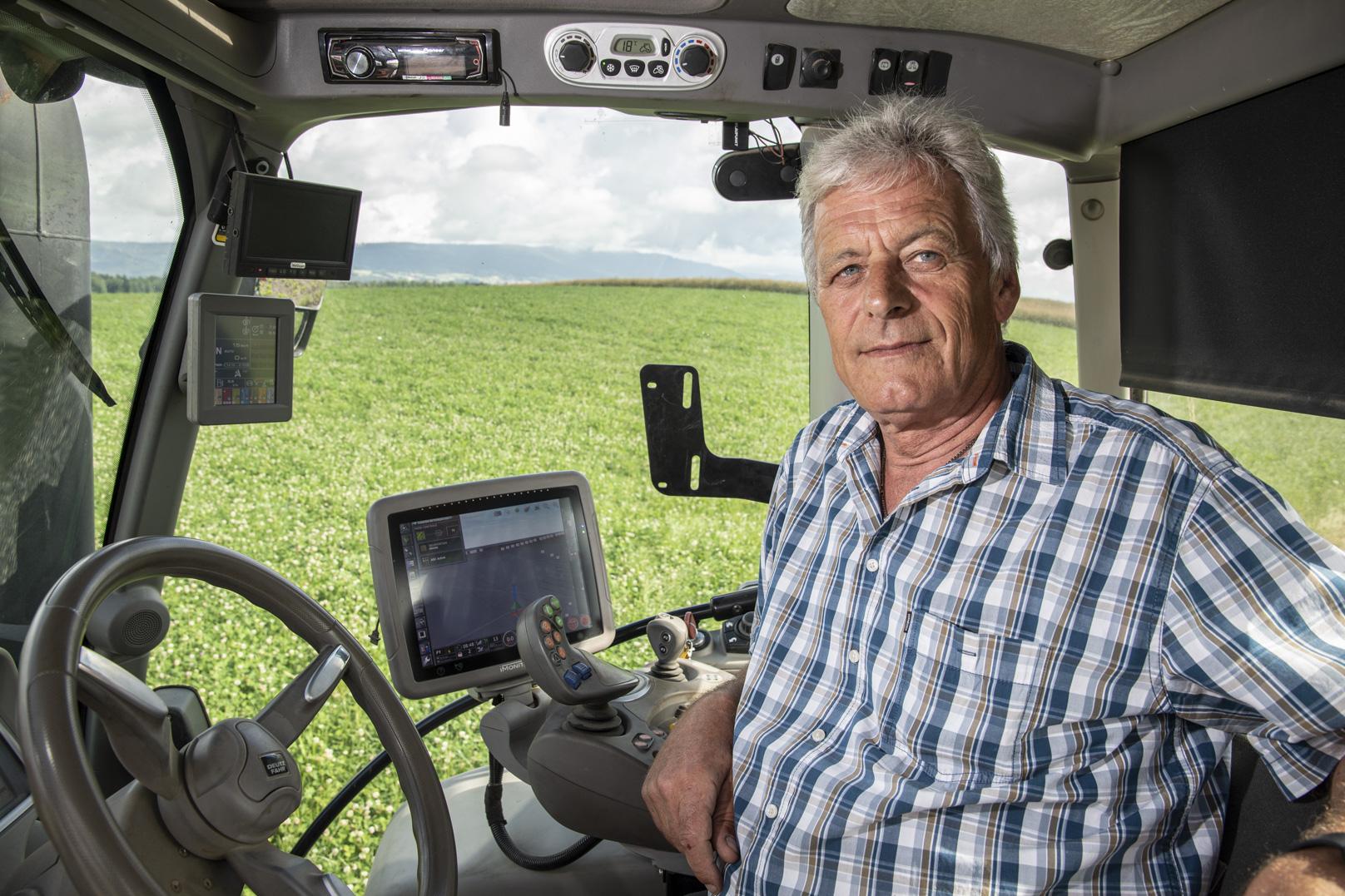 Des sillons et des semis tracés via GPS