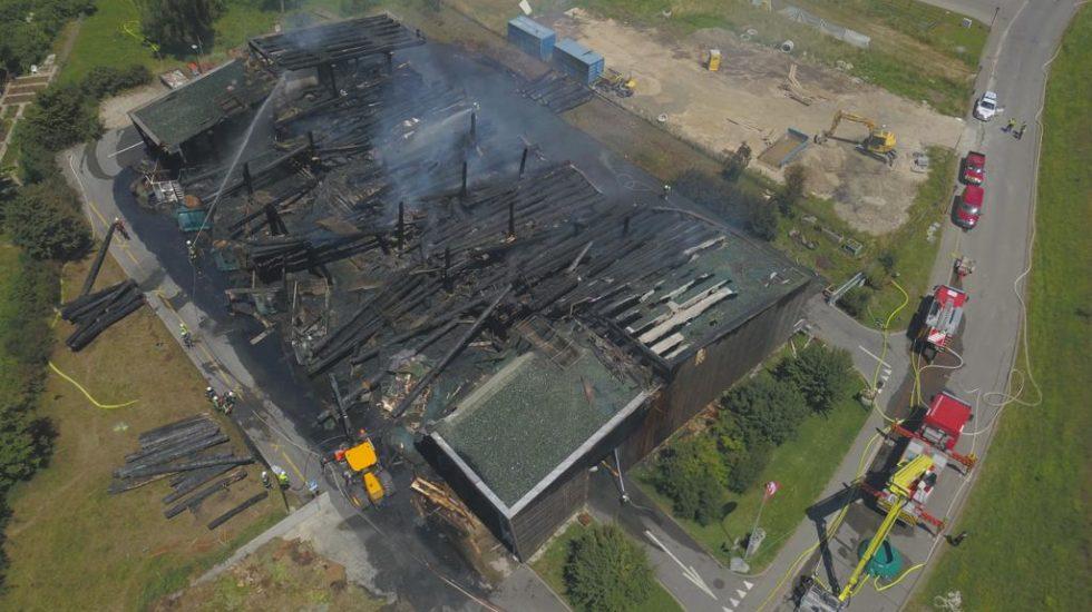 Incendie de Saint-Prex: la piste accidentelle privilégiée