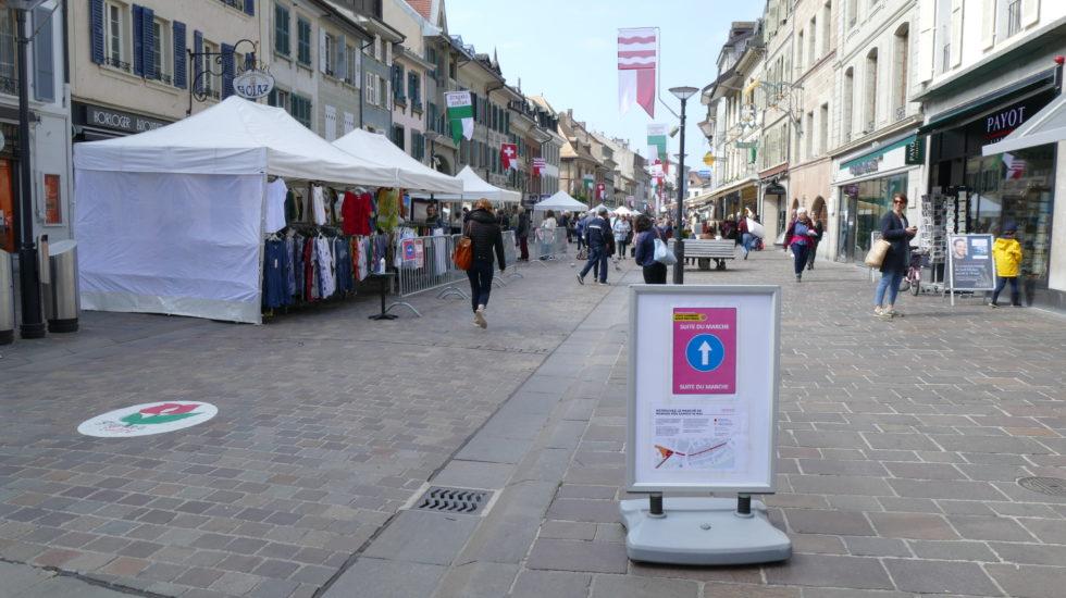 Le marché de Morges de retour à la Grand-Rue
