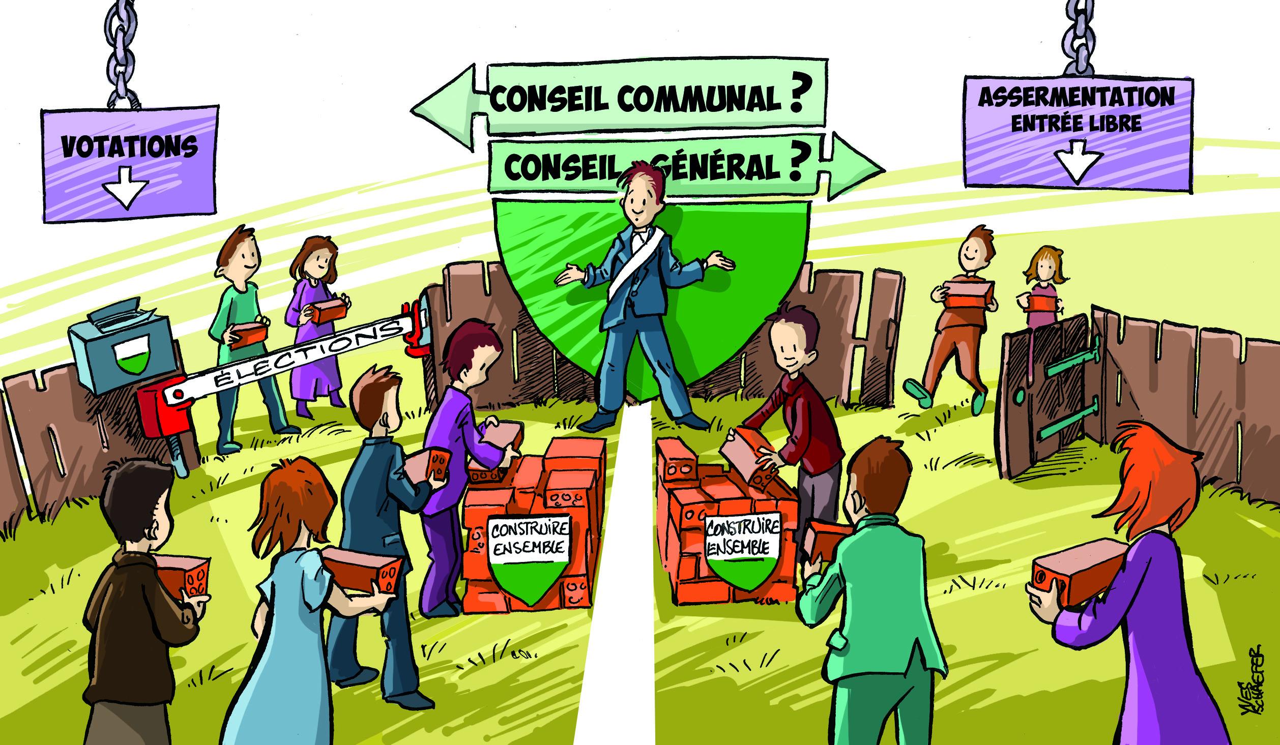 Dilemmes politiques dans les villages