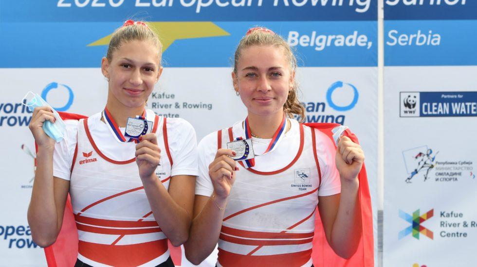 Aviron: Thalia Ahumada médaillée d'argent aux championnats d'Europe