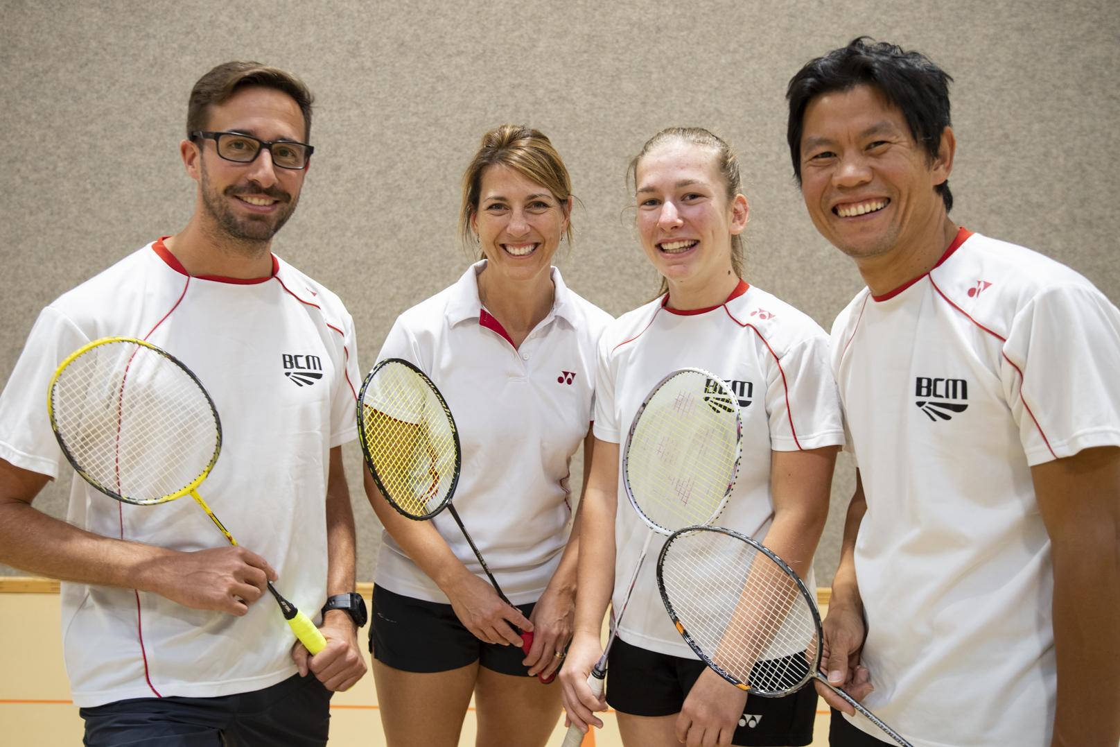 Le Badminton Club Morges reprend fort
