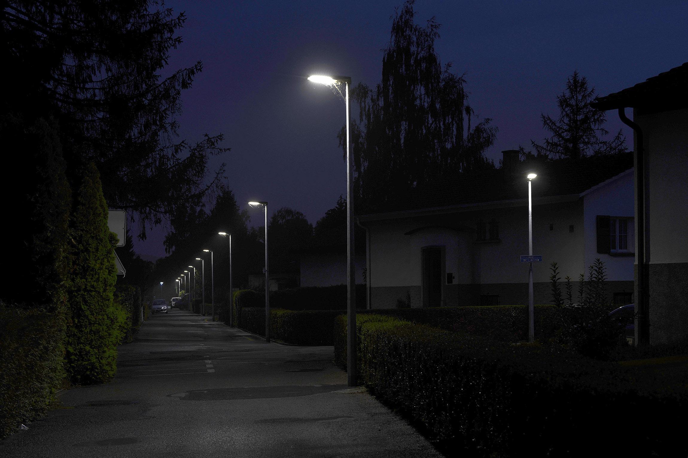 L'éclairage public de nuit fait débat