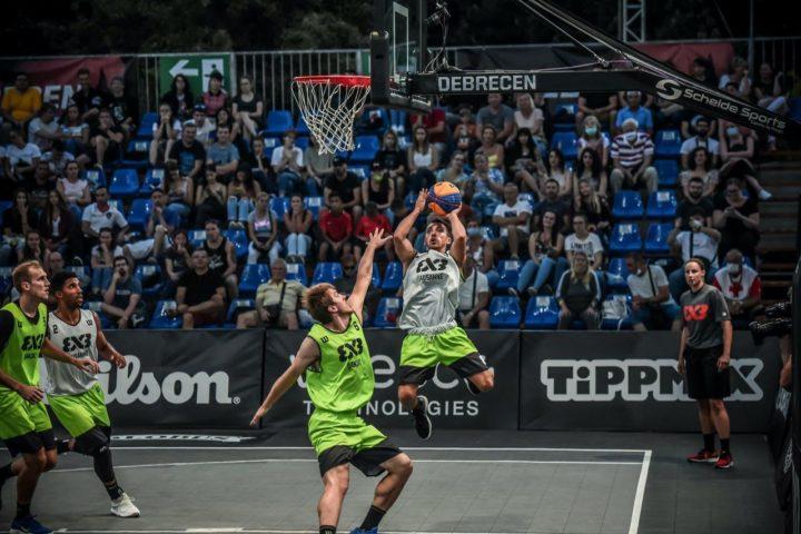 Gilles Martin et Lausanne marchent sur le basket 3×3 mondial