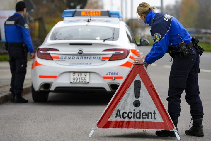 Accident mortel de la circulation à Aclens