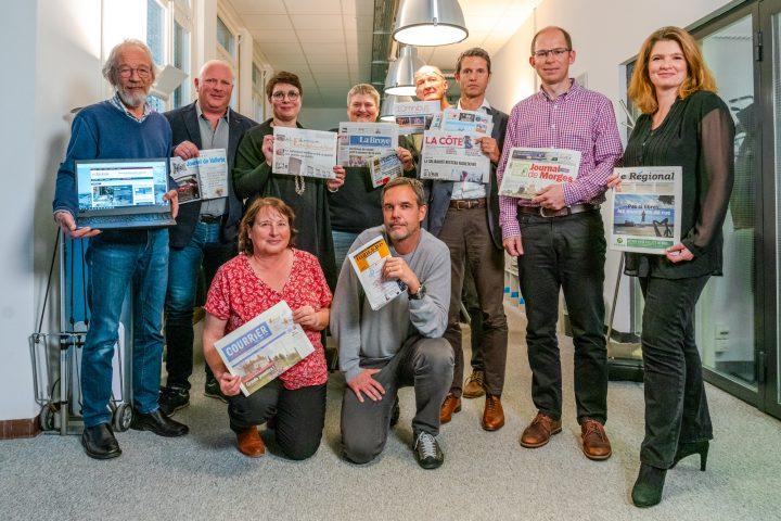 Les journaux locaux font campagne commune