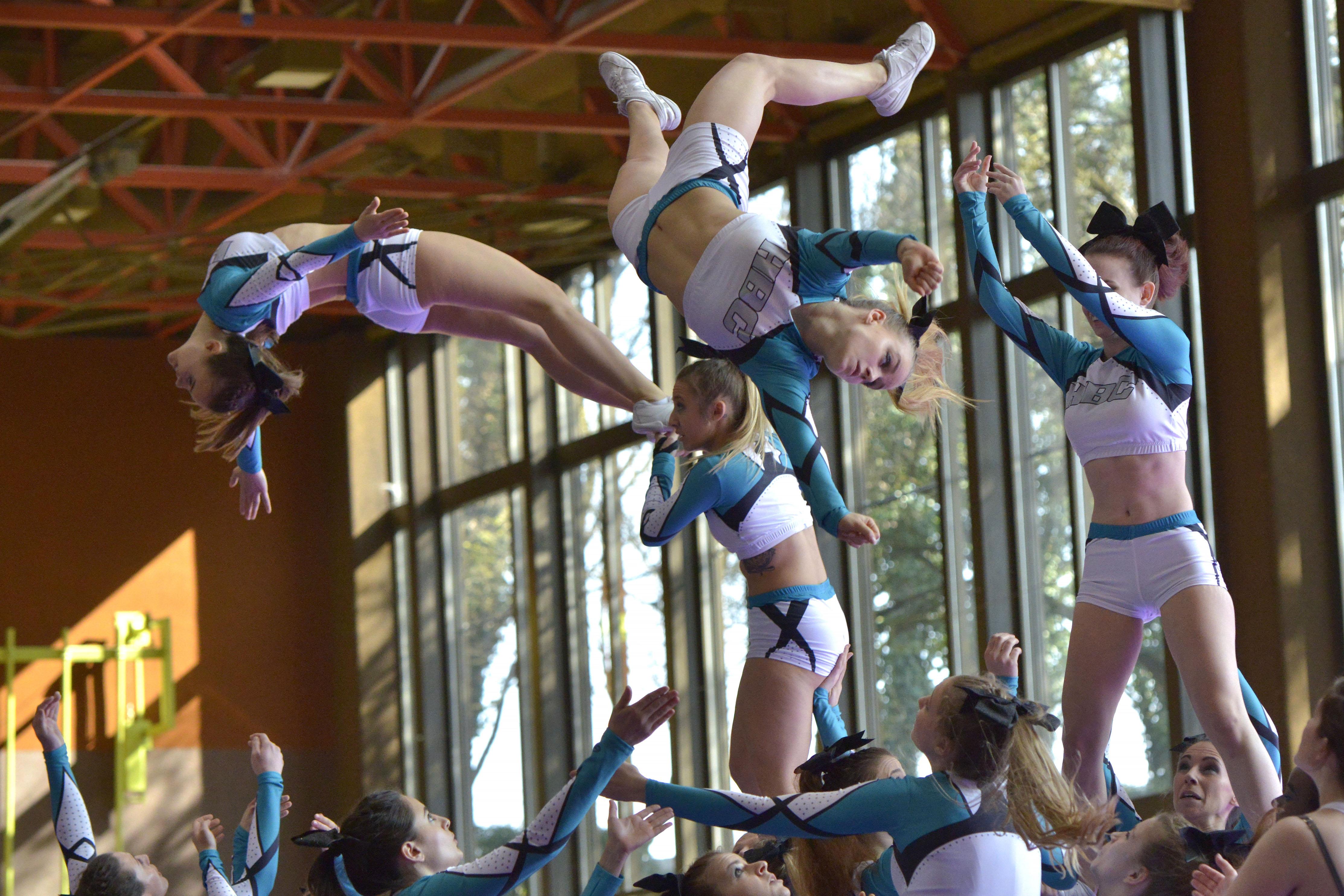 La fête du Cheerleading à Beausobre