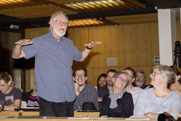 Une réunion à l'Université de Lausanne sur le thème du climat