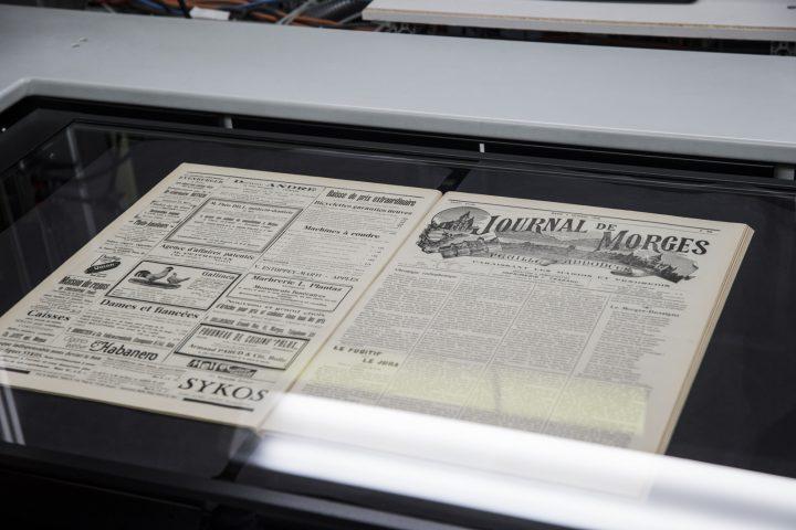 Le Journal de Morges mis en boîte