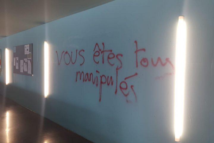 Le gymnase de Morges vandalisé!