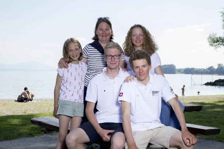 Une famille qui a le vent en poupe