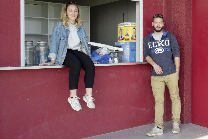 Les jeunes géreront »Le Kioske»