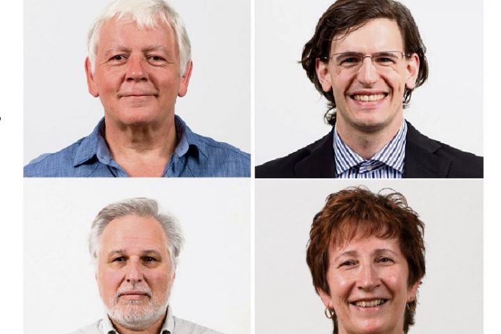 Les quatre candidats à l'exécutif sont connus