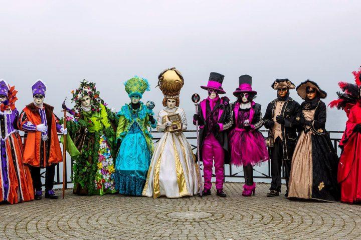 Un »défilé vénitien» s'est invité à Morges
