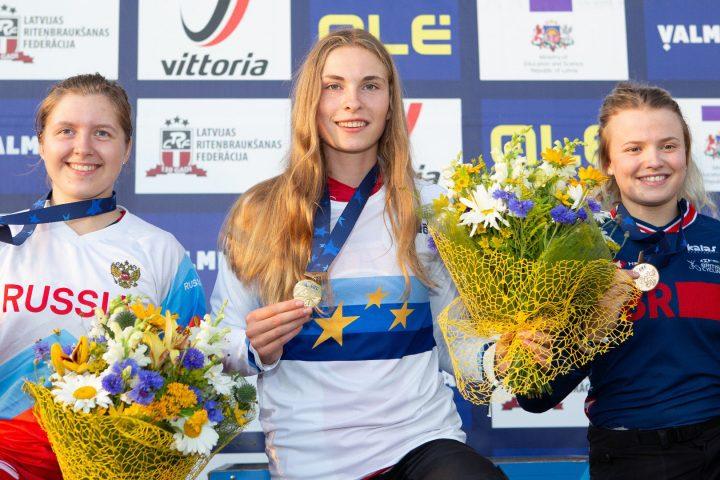 Zoé Claessens championne d'Europe, son père aussi!