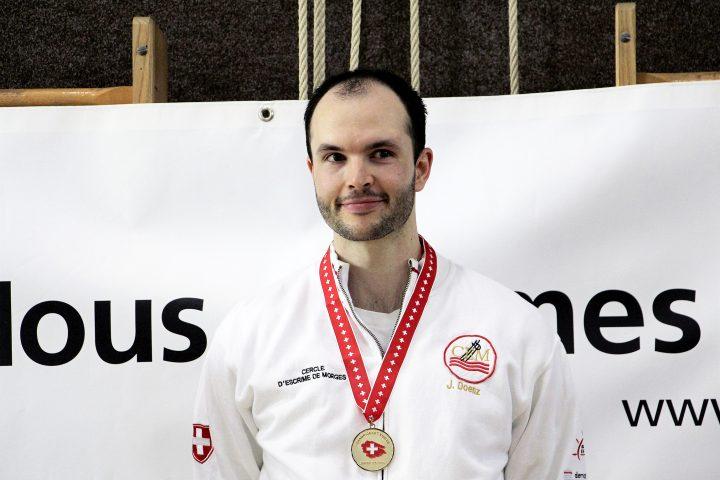 Un Morgien sacré champion suisse