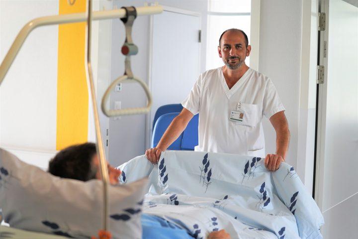 «Je connais l'hôpital par cœur»
