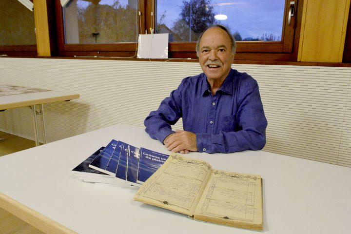 Le livre de Jean-Luc Dépraz verni à Lully
