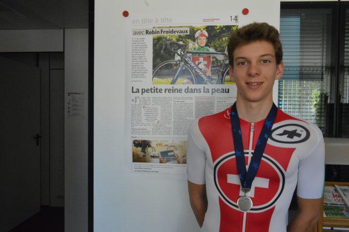 Vice-champion d'Europe, Robin Froidevaux espérait mieux