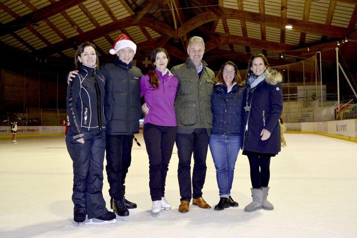 Le gratin du patin suisse à Morges
