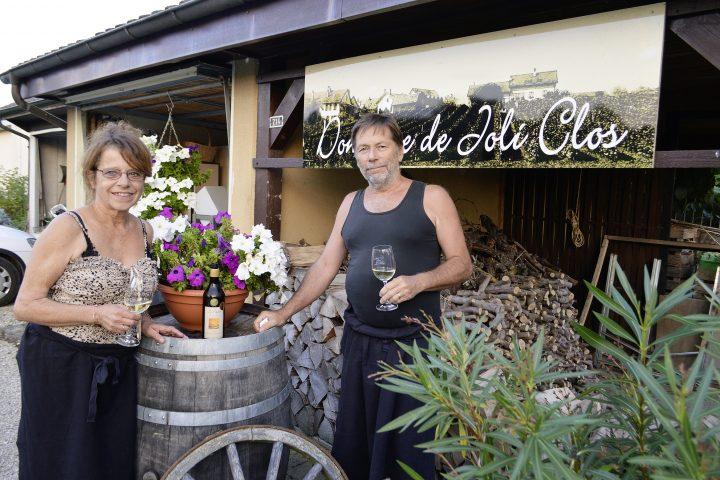Joli Clos est bel et bien un domaine viticole