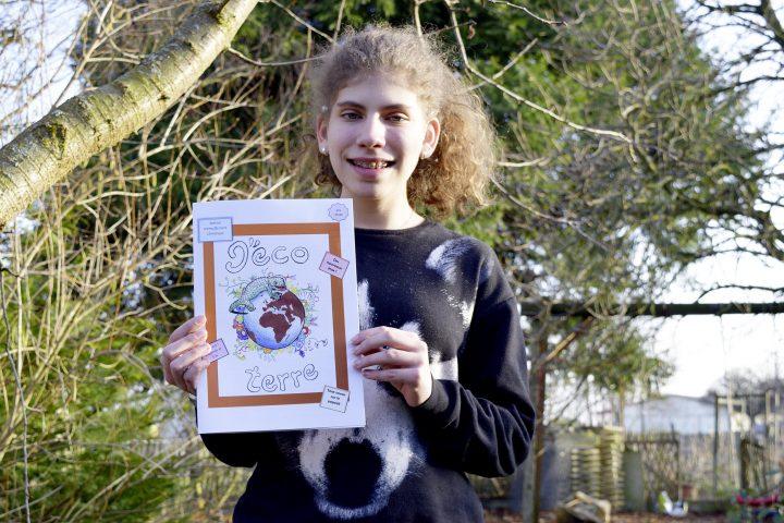 À 15 ans, elle écrit son journal pour sensibiliser à l'écologie
