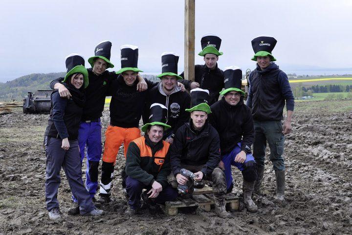 Village transformé en ballade irlandaise