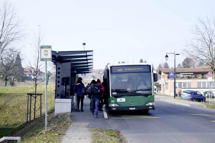 Des bus pleins à craquer