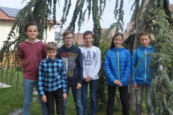 Des écoliers s'engagent pour la nature