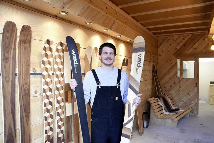 Travailler le bois pour la passion de la glisse