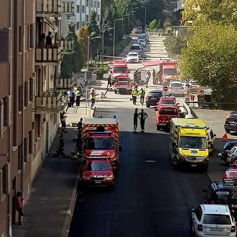Incendie dans un parking sous-terrain à Morges