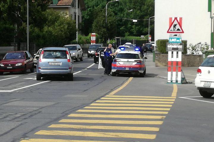 Déploiement policier hors normes à Morges!