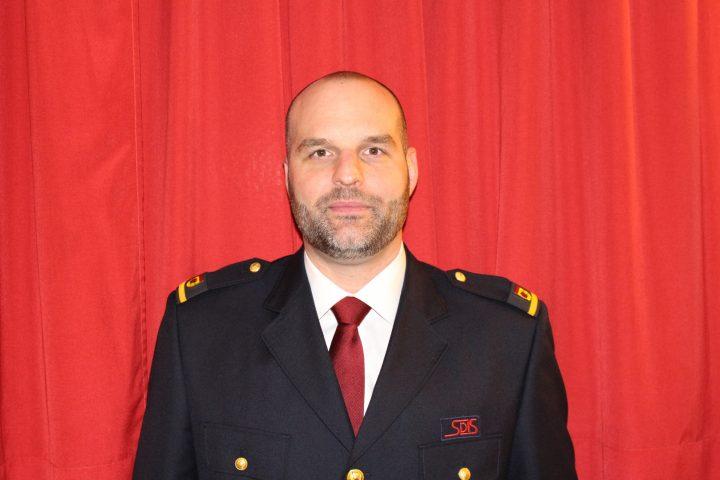 Nouveau commandant pour les pompiers