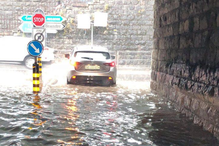 Inondations en cascade dans la couronne morgienne