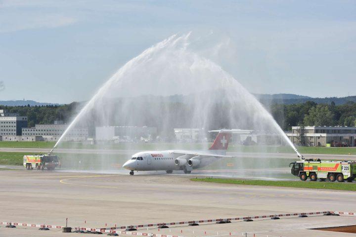 Swiss dit au revoir à un avion mythique