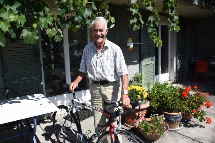 Un retraité fidèle  du triathlon