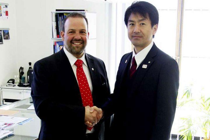 Un jumelage en vue avec le Japon?