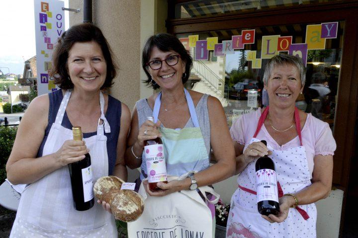 L'épicerie associative de Lonay en fête