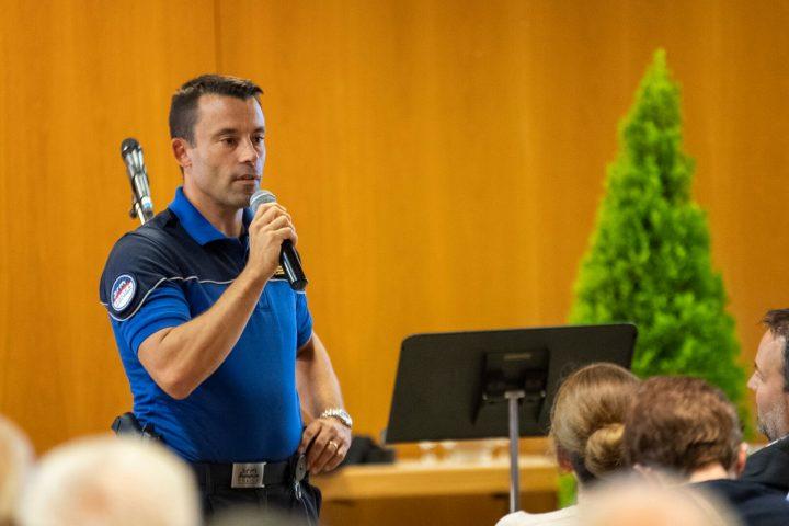 Nouveau commandant pour la police