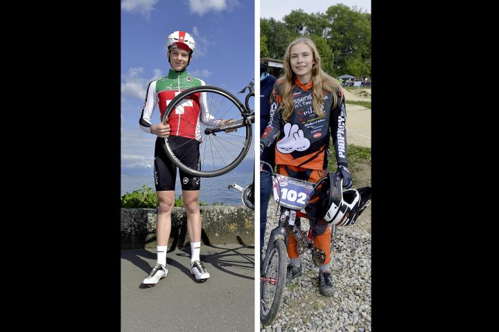 Robin Froidevaux et Zoé Claessens honorés