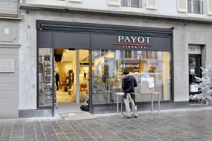 Payot s'installe en ville