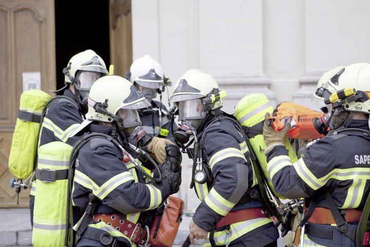 De l'eau dans le gaz chez les pompiers