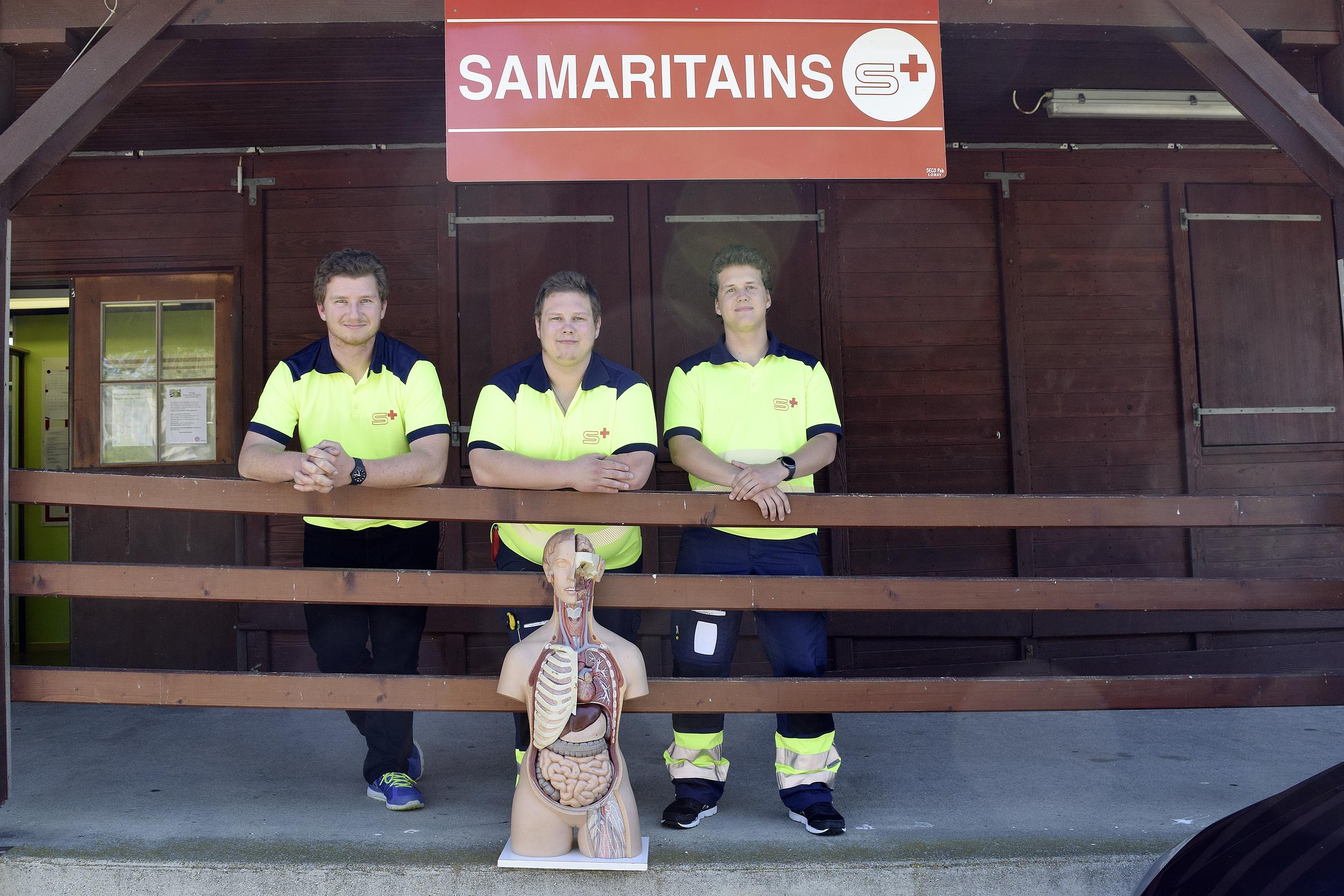 Des Samaritains en cohésion totale