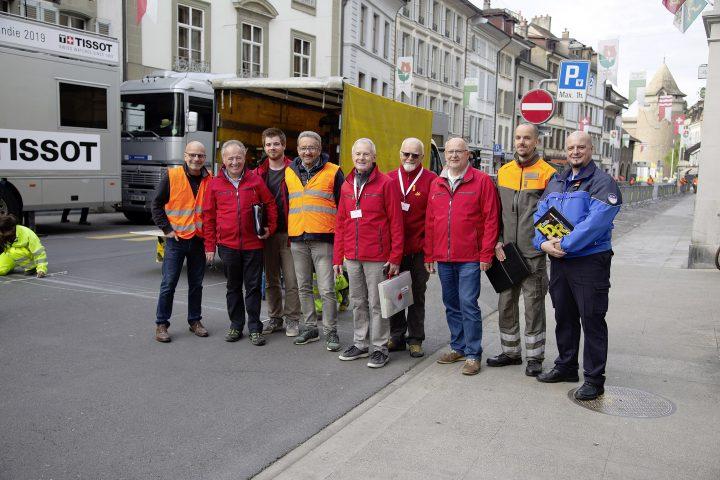 La rue Louis-de-Savoie bichonnée pour le Tour