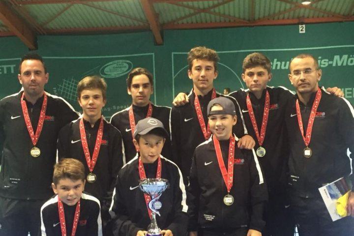 Les U15 de Morges sacrés champions suisses!